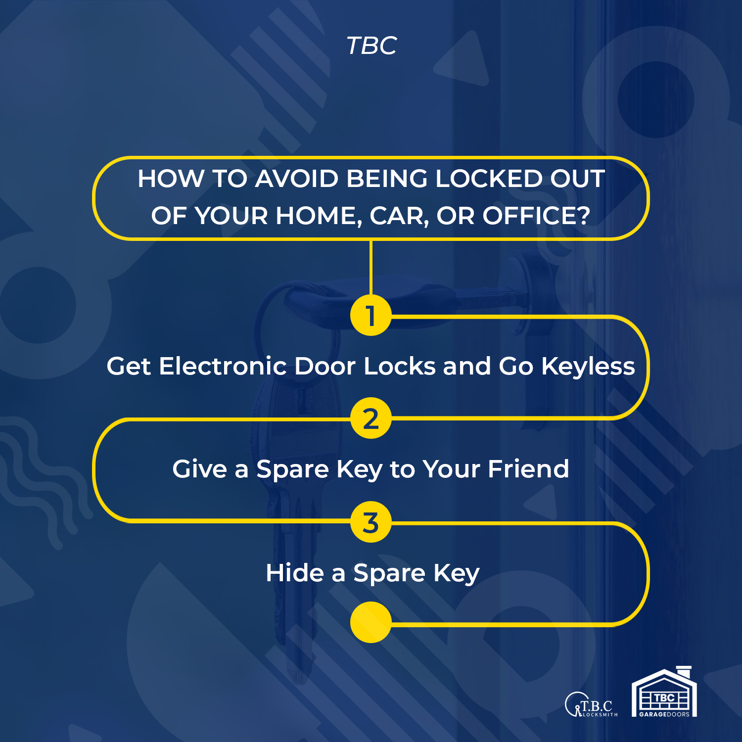 How to Avoid Being Locked Out of Your Home, Car, or Office