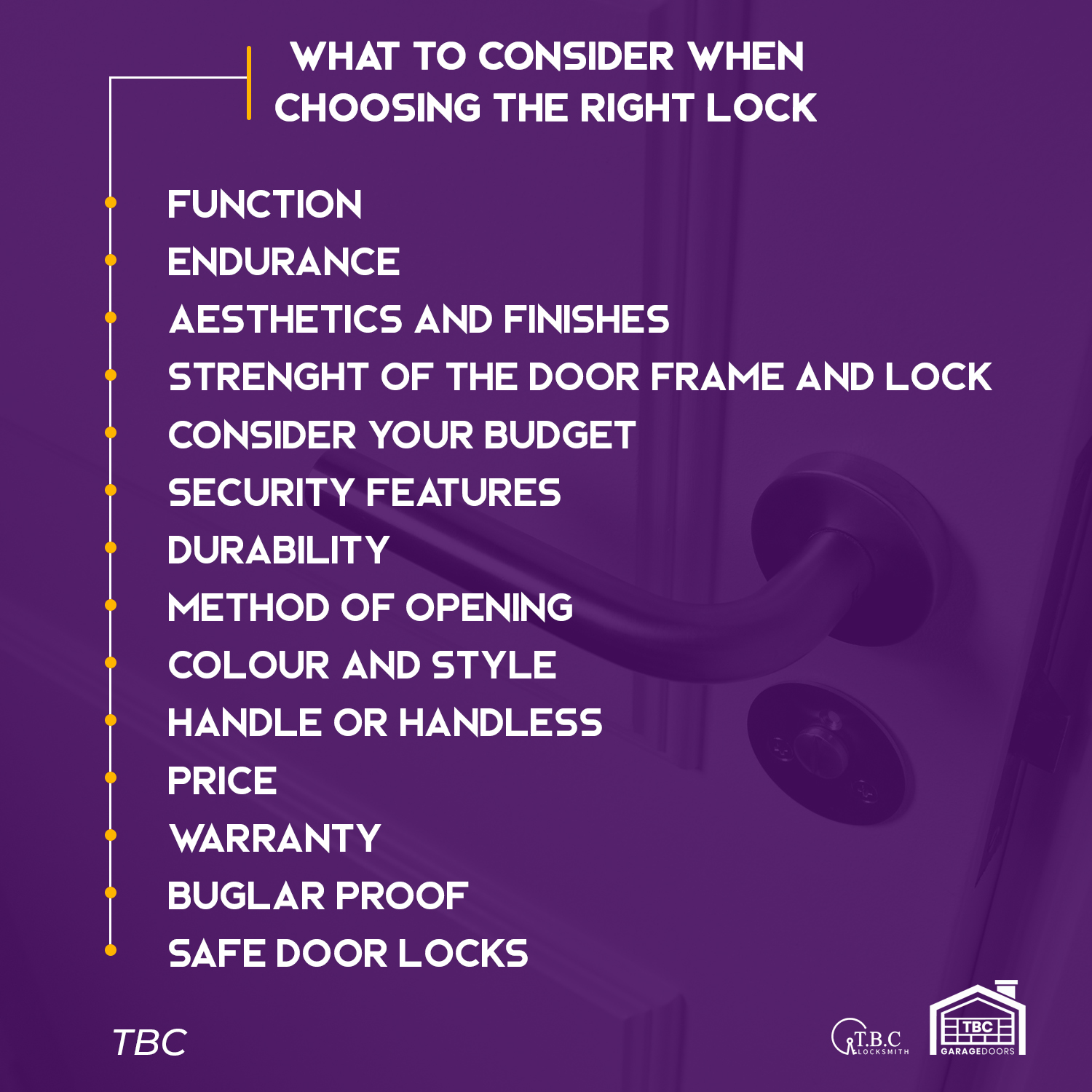 What to Consider When Choosing the Right Lock