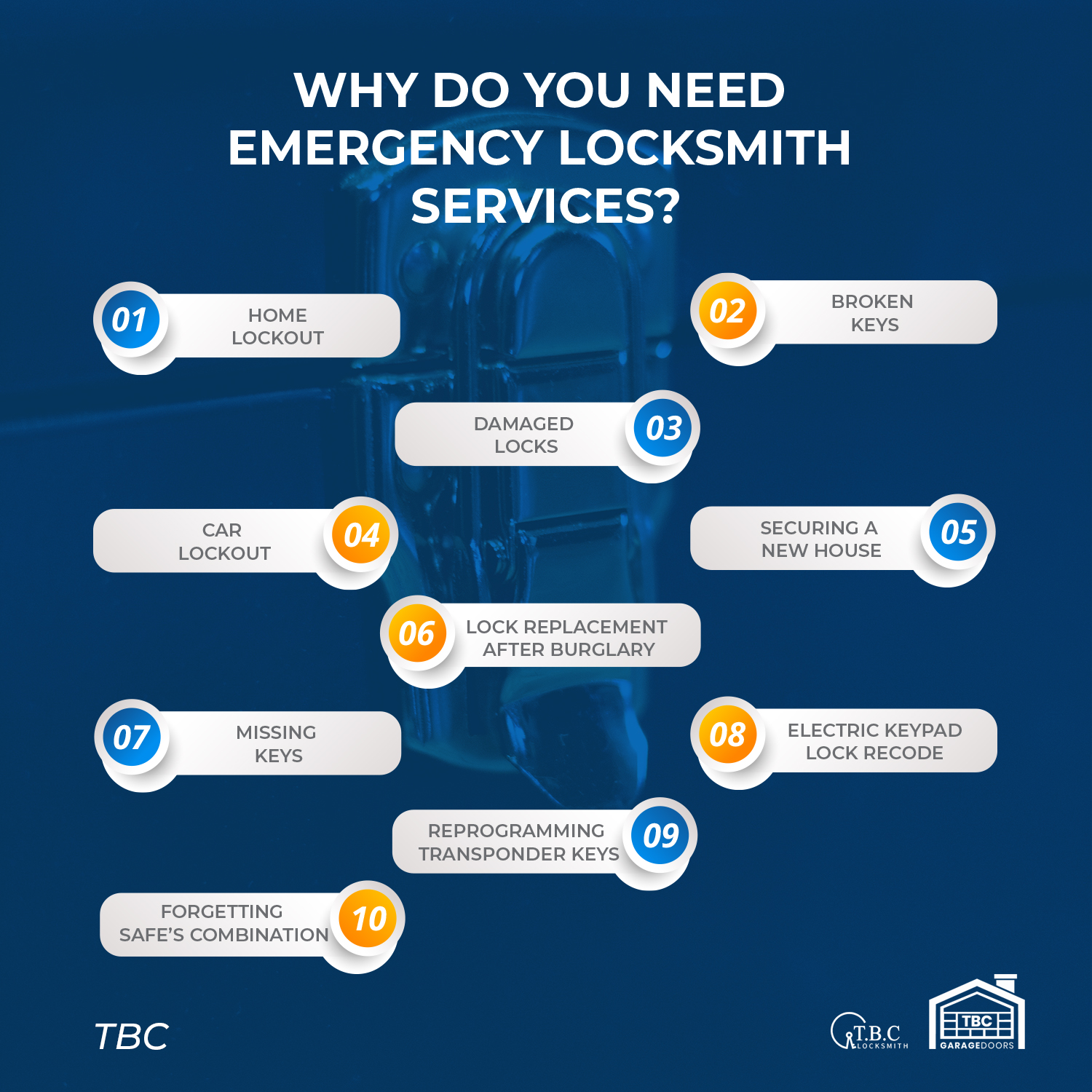 Why Do You Need Emergency Locksmith Services?