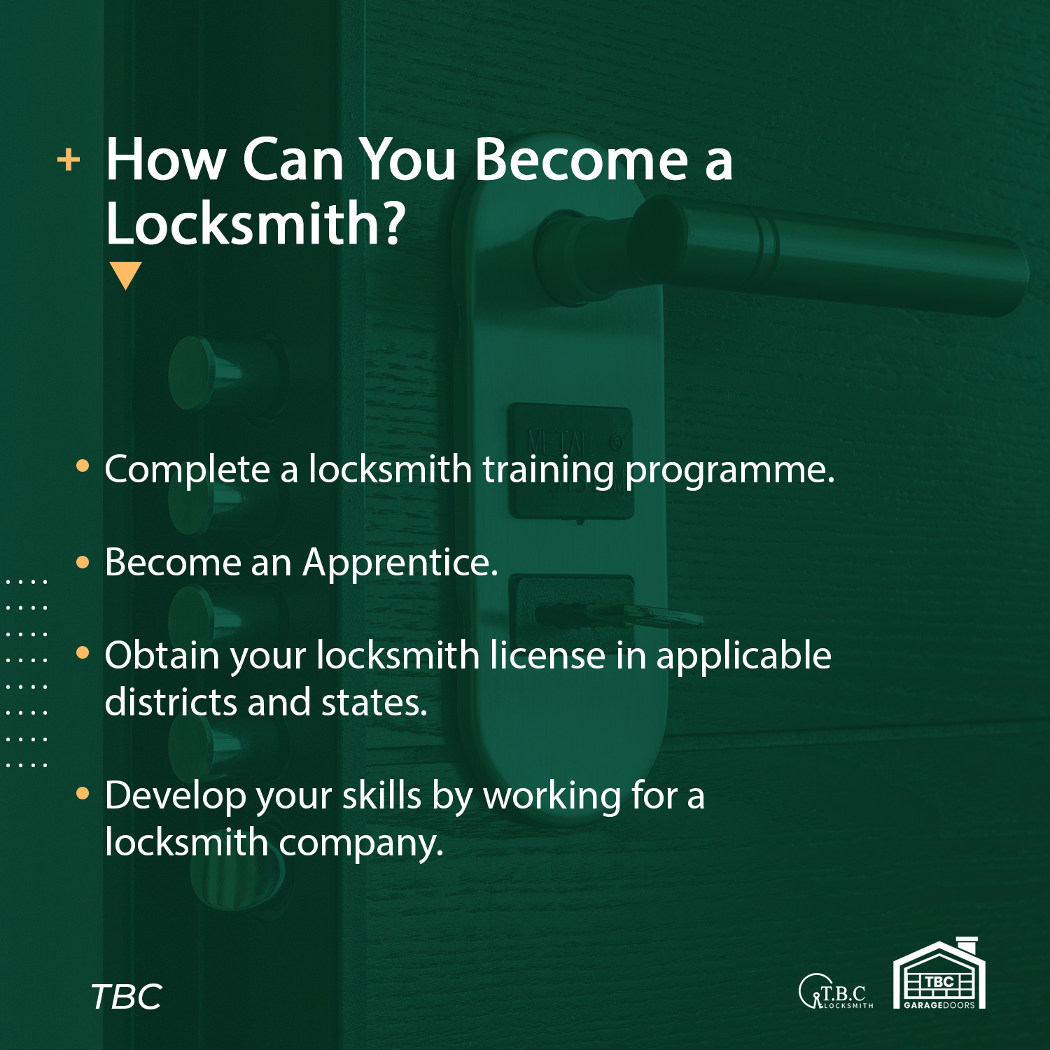 How Can You Become a Locksmith?